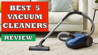 Best 5 Vacuum Cleaners in 2020 - Review