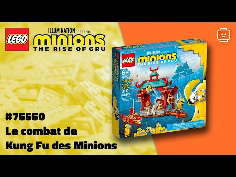 Vidéo LEGO Minions 75550 : Le combat de Kung Fu des Minions
