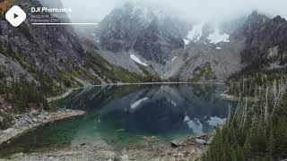 ???? Autumn Lake Mountains | DJI Phantom 4 4K Royalty free stock video footage