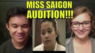 Lea Salonga's Audition for Miss Saigon REACTION - Video Youtube