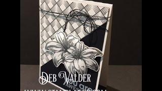 #1 One Sheet Wonder using Geometric Genius with Deb Valder