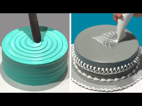 This Beautiful Cake Decorating Looks Super Easy!