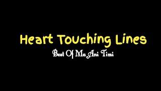 Heart Touching Lines || Best Of Ma Ani Timi || beautiful nepali quotes, status || man xune vanai