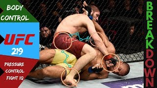 Khabib Nurmagomedov Control Breakdown | Dagestanian Bear | Fight IQ Mastery