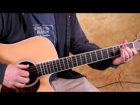 Beginner Fingerstyle Guitar Lesson   Basic Finger Picking Guitar Lessons