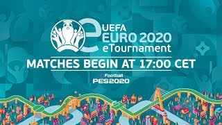 eEURO 2020 Qualifying Round - Groups A-E