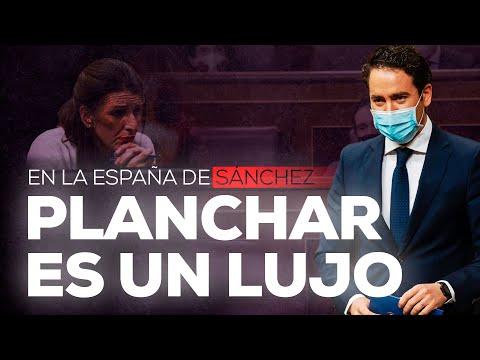 En la España de Sánchez planchar es un lujo