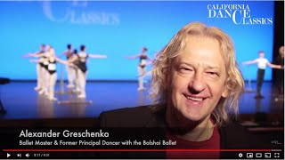 Judge's Perspective with Alexander Greschenko | Classical Ballet and Contemporary Dance Competition