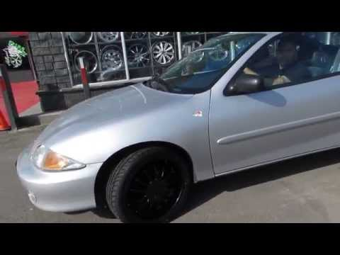 HILLYARD RIM LIONS 2002 CHEVROLET CAVALIER WITH 18 CUSTOM MATTE WHEELS