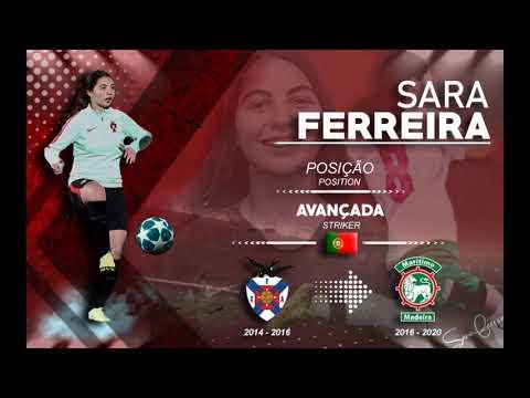 HD Women Soccer players highlights | SARA FERREIRA