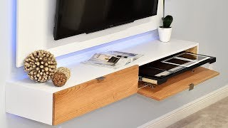 How To Make A Wall Mounted Entertainment Center