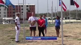 Bermuda Flag Raising Ceremony in Columbia