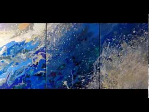 Μοντερνοι Πινακες Ζωγραφικης ΕΙΡΗΝΗ ΚΑΡΠΙΚΙΩΤΗ Εργα Τεχνης - YouTube