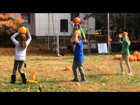Ashfield Fall Festival Pumpkin Games 2014