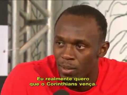 Bolt diz que vai torçer pro Corinthians no Mundial