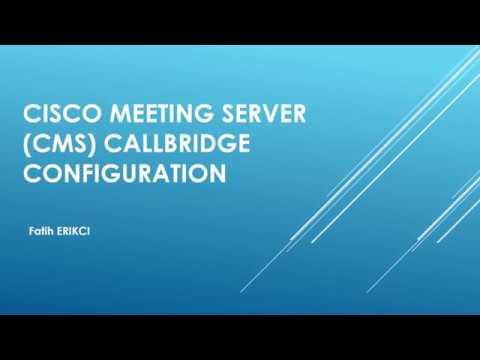 Cisco CMS Recorder