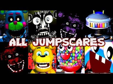 Five Nights at Freddy's Ultimate Custom Night Jumpscare