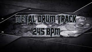 Brutal Metal Drum Track 245 BPM | Preset 2.0 (HQ,HD)