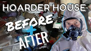 Hoarder House Before and After - Anson Property Group LLC