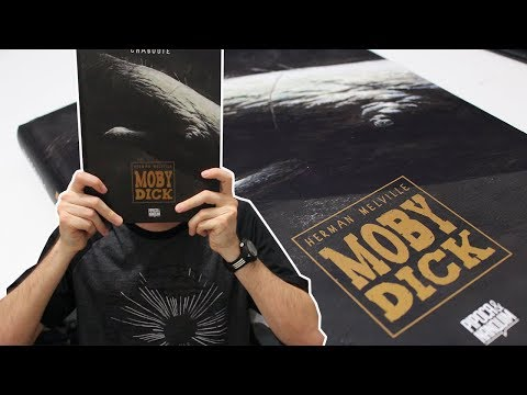 MOBY DICK, PIPOCA & NANQUIM