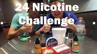 24MG NICOTINE VAPE CHALLENGE!