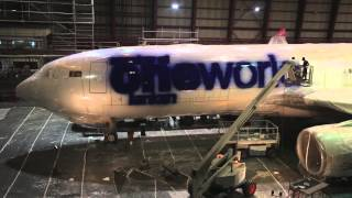 Behind the Scenes: oneworld Livery on SriLankan Airlines Flight
