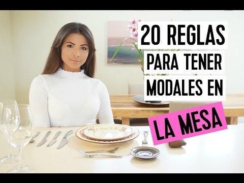 20 REGLAS PARA TENER MODALES EN LA MESA | Doralys Britto