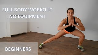 Full Body Workout At Home For Beginners – 20 Minute Low Impact Workout With No Equipment by FitnessType
