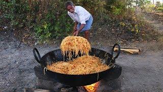 Chicken Noodles Recipe | Amazing Chinese Chicken Hakka Noodles | Grandpa Kitchen