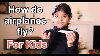 How do airplanes fly (For Kids)? ⚡Explained By A Kid 🧒#LearnWithDiva