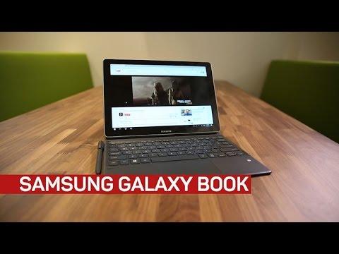 , title : 'Samsung Galaxy Book with Windows 10'