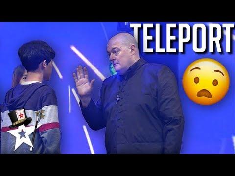 Magician Finalist SHOCKS Judges With Teleportation!   Magicians Got Talent