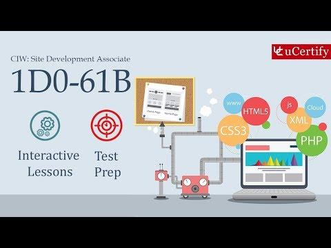 1D0-61B : CIW: Site Development Associate - YouTube