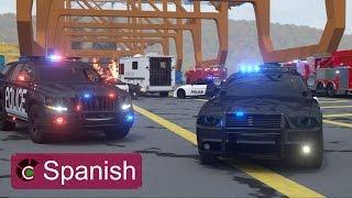 Sargento Cooper, la Patrulla de Policía 2 (SPANISH)- Verdaderos Héroes de Ciudad | Videos para niños