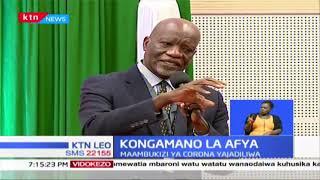 Rais Uhuru azidindua kongamano la afya huku maambukizi ya coronavirus yakijadiliwa