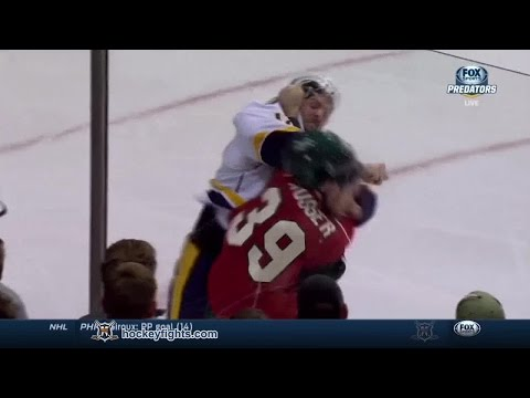 Mike Fisher vs Nate Prosser