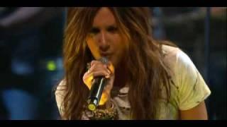 Ashley Tisdale - It's alright , It's OK  live