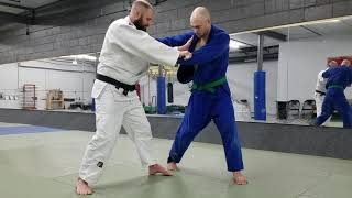 "Judo ""Twitch Entry"" Tai-Otoshi (Body Drop Throw)"