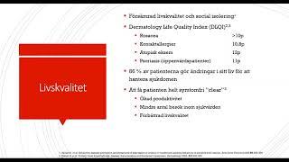 86% av patienterna gör ändringar i sitt liv pga rosacea