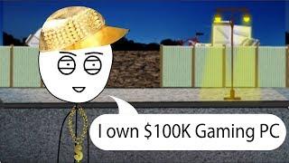 When rich gamer visits poor gamer - full movie