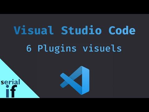 Visual Studio Code - 6 plugins visuels pour être plus productif