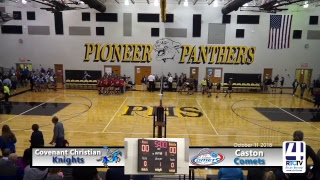 Volleyball Sectional Caston vs Covenant Christian