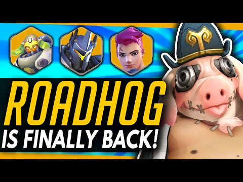 Overwatch | Roadhog is BACK! - Why He's The Best He's Ever Been!