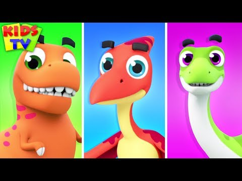 Dinosaur Song | The Supremes | Kids Songs & Cartoon Videos for Babies