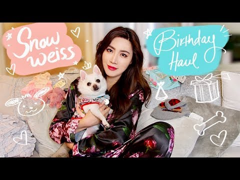 My Dog's Bday SUPER CUTE Fashion HAUL | Valory Pierce