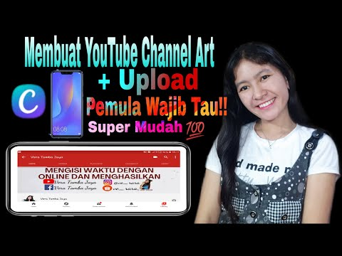 TUTORIAL - CARA MUDAH MEMBUAT YOUTUBE CHANNEL ART ...
