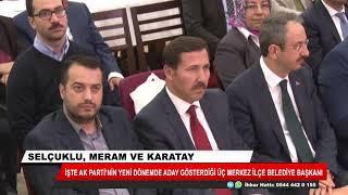 AK Parti'nin Konya'daki merkez ilçe belediye başkan adayları