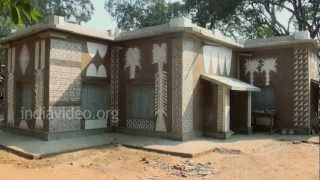 Studio of Nandalal Bose in Kalabhavan, Shantiniketan