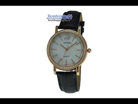 Видео обзор женских часов VALERI l3992L