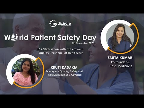 'Patient safety is everything today' says, Kruti Kadakia, Manager – Quality, Covance
